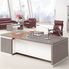 high quality office table director office silver white executive table of high quality hy nnh