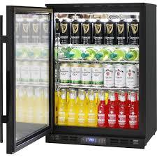 glass door alfresco bar fridge with lg compressor