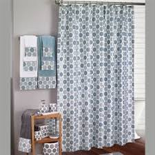 Circles Shower Curtain Bath Shower Curtains And Shower Curtain Hooks Touch Of Class
