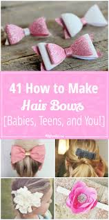 how to make your own hair bows 41 how to make hair bows babies and you tip junkie