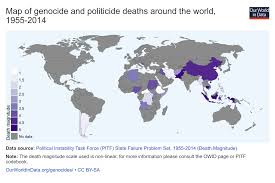 Black Death Map Genocides Our World In Data