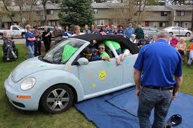 old blue volkswagen volkswagen challenge