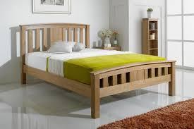 wooden bed frames the oak bed store