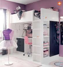 lit mezzanine enfant avec bureau lit mezzanine avec bureau et armoire integres maison design