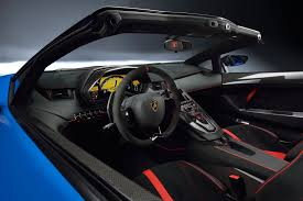 inside lamborghini gallardo lamborghini aventador super veloce roadster 2016 the sv blows