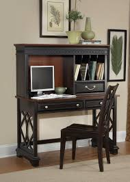 Cherry Desk With Hutch Home Office Desk In Poplar Solids Cherry Veneers With Chocolate