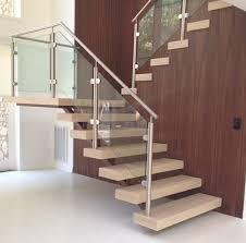Glass Banisters For Stairs Balustrade Post Stainless Steel 316 For Balcony Deck Stair Railing
