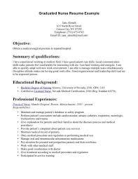 cover letter resume examples nursing resume examples nursing