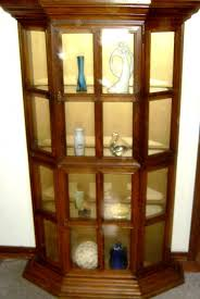 small curio cabinet with glass doors curio cabinet building small curio cabinet glass doors cabinets