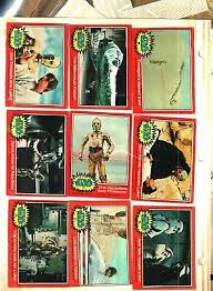 wars cards wars trading cards non sport trading cards collectibles