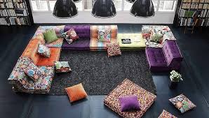 kenzo takada reinvents the roche bobois mah jong sofa robbreport