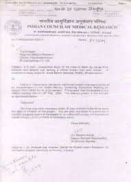 Certification Approval Letter Prospective Study Of One Million Deaths In India Rationale