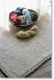 Rug Wool Yarn Knitted Rectangular Rug Halcyon Classic Rug Wool Knitting