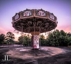 First Six Flags Sunrise At Abandoned Six Flags New Orleans Jazzland U2013 Abandoned