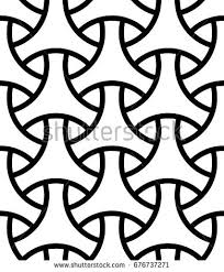 seamless surface pattern design traditional japanese stock vector