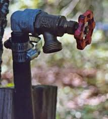 How To Change A Water Faucet Outside Replacing An Outdoor Faucet Using Compression Fittings For Copper