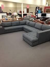 Large Modular Sofas Grey Fabric Modular Lounge Living Lounges U0026 Sofas Modular
