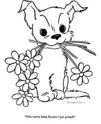 coloring pages puppies kittens az coloring pages kids