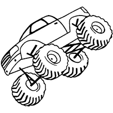 monster jam coloring page 399663