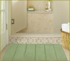 Bathroom Rug Sets Walmart Memory Foam Bath Rugs Walmart Home Design Ideas