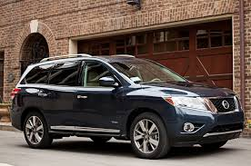 nissan rogue hybrid mpg 2014 nissan pathfinder hybrid review automobile magazine
