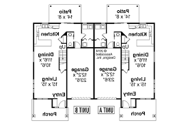 floor plans for multi family homes part 35 t 417 triplex plans