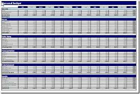 Excel Spreadsheet Budget Template 10 Free Household Budget Spreadsheets For 2017