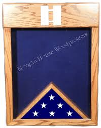 3x5 Flag Display Case With Certificate Military Shadow Boxes Custom Displays And Retirement Gifts
