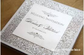 glitter wedding invitations wedding invitation glitter luxury glitter wedding invitations