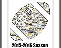 Engraved Football Gifts Personalized Cheerleader Gift Name Print Custom Word Art