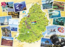 map attractions map of mauritius attractions mauritius attractions