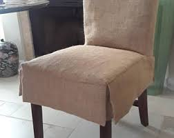 parson chairs slipcovers custom 4 skirt burlap parson chair slipcovers fully