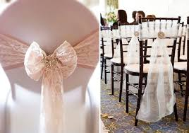 wedding chair bows it s all in the details six alternative chair decor ideas