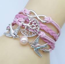 vintage infinity bracelet images New fashion charm jewelry lots style leather cute infinity jpg