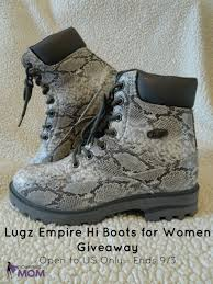 lugz s boots canada lugz empire hi boots for giveaway