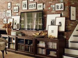 I Was Going To Do The Basement Family Room In Black And White - Black and white family room