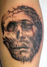 looking for unique skull tattoos tattoos jesus skull