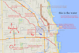 Chicago Red Line Map by Here U0027s An Oversimplified Map Of Where To Live In Chicago Imgur
