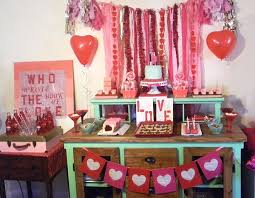 Diy Valentine S Day Table Decor by Diy Valentines Day Decoration Ideas Pink Lover