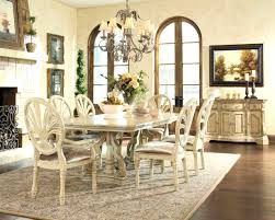 furniture glamorous rectangle dining room table antique white