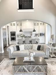 High Ceilings Living Room Ideas Living Room High Ceiling Living Room Decor With White Tufted