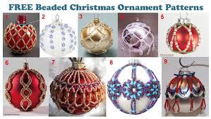 beaded christmas ornaments christmas ideas
