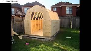 building a backyard garden shed youtube
