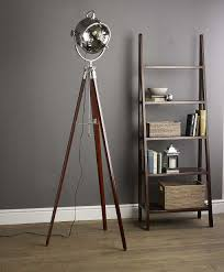 lamp design floor lamps vintage wooden floor lamp with table cute tripod