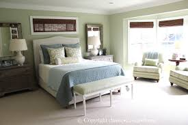 soft green and aqua blue master bedroom before and after classic