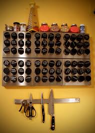 Diy Magnetic Spice Rack 20 Clever Kitchen Spices Organization Ideas