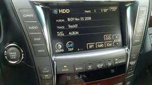 lexus ls 460 aftermarket parts lexus ls460 executive seat package hdd audio demo youtube