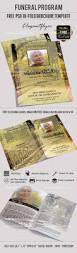 free funeral program template u2013 by elegantflyer