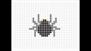 hama bead spider halloween series 3 youtube