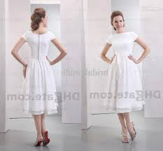 tea length wedding dress pattern popular wedding dress 2017